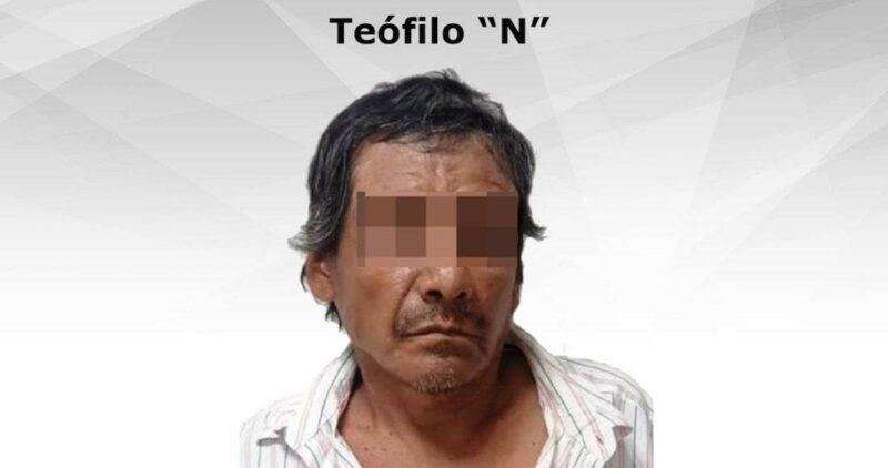 Teófilo violó y estranguló a su madre, de 72 años, hasta la muerte en Morelos; ya está preso