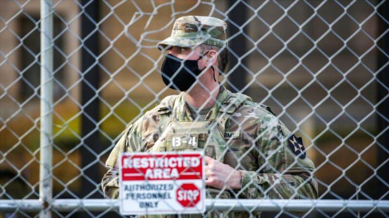 Alerta del FBI: extremistas de QAnon, fanáticos de Trump, pretenden usar uniformes de la Guardia Nacional para impedir que Biden sea ungido como presidente. Hay dos detenidos