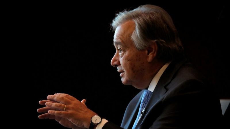 """El secretario general de la ONU acusa a los países ricos de """"nacionalismo de vacunas"""""""