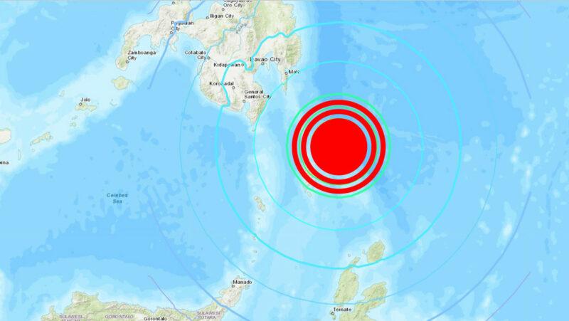 Sismo de magnitud 7,0 en las costas de Filipinas; no se reportan mayores daños