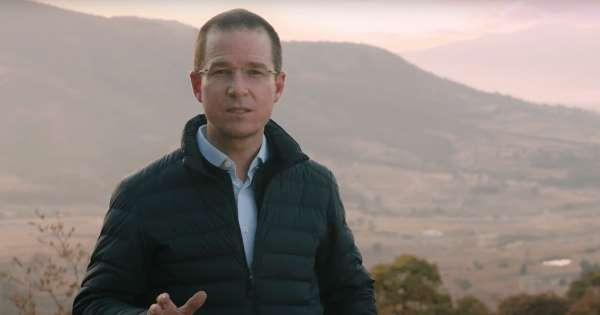 Video: Ricardo Anaya anuncia que aspira a la presidencial en el 2024