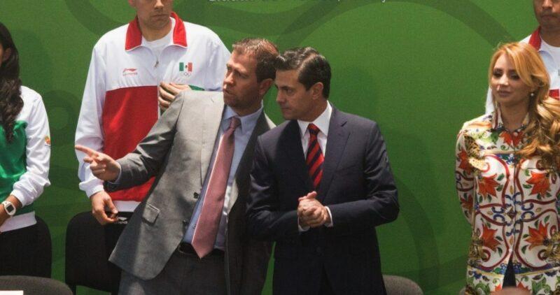 SFP inhabilita 10 años a Alfredo Castillo, titular de Conade y comisionado de Seguridad en Michoacán con Peña Nieto, por omitir cuentas por 18 millones de pesos