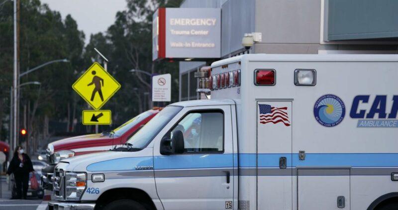 California, enshock por COVID: ordena suspender cirugías y por saturación de hospitales, trasladarán enfermos del sur al norte