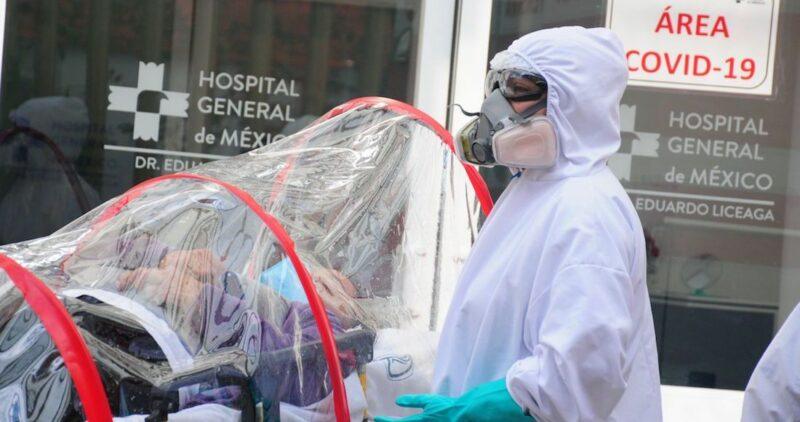 Los contagios de COVID en México rompen récord en sólo 24 horas: 14,395. La pandemia mata a 135,682