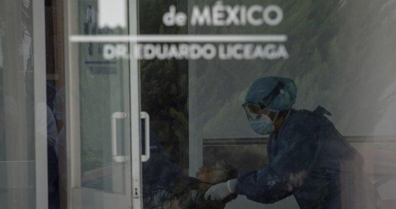 Los contagios en México rompen récord para un sólo día: 13,345. La COVID-19 deja 129,987 muertes