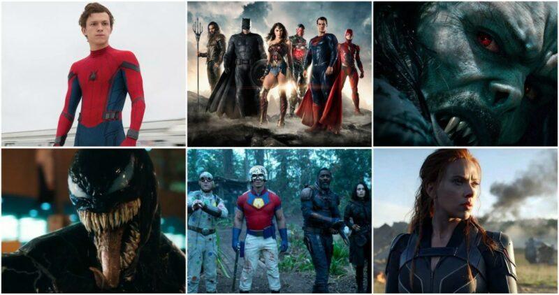 2021 estará plagado por los estrenos de las cintas de superhéroes. Aquí la LISTA y FECHAS
