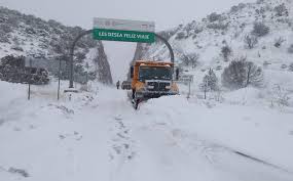 Alertan por sexta tormenta invernal en el norte del país