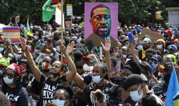 El movimiento Black Lives Matter ganó un premio sueco de derechos humanos y es nominado al Nobel de la Paz