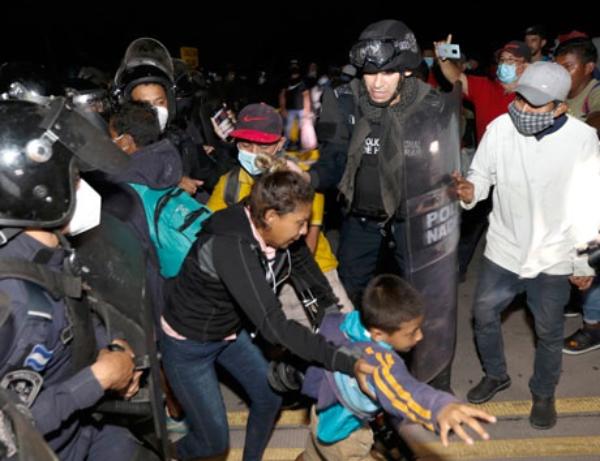 El gobierno mexicano impedirá el paso a caravana de tres mil centroamericanos que proyectan llegar a EU