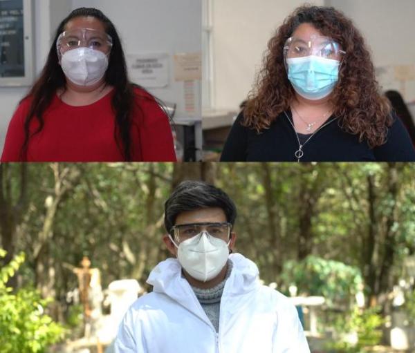 Video: Empleados de los panteones, los otros trabajadores esenciales, trabajan 24 horas, abrumados por la labor y la experiencia