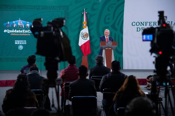 AMLO respalda las medidas tomadas por Biden, destaca que no hay ninguna amenaza contra México y que no se va a enfrentar con él