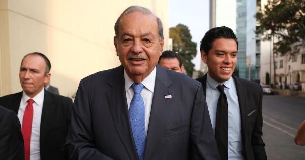 Carlos Slim es dado de alta del Hospital de Nutrición, donde  estuvo  al menos 3 días por la COVID-19