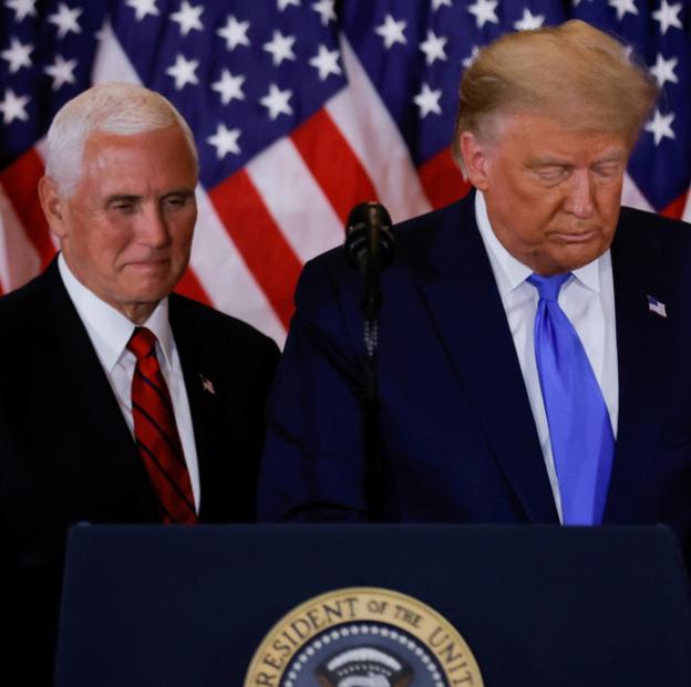 """Si Trump es destituido, puede realizar una """"acción precipitada"""" que dañe al país, según el equipo del vicepresidente Pence, reporta CNN"""