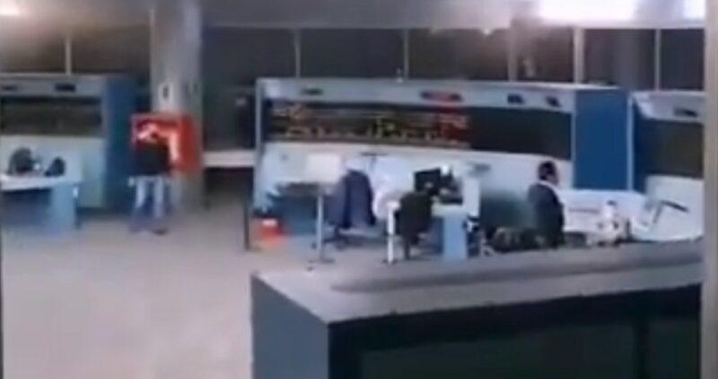 VIDEO muestra momento exacto en que alarmas comenzaron a sonar en oficinas del Metro en CdMx