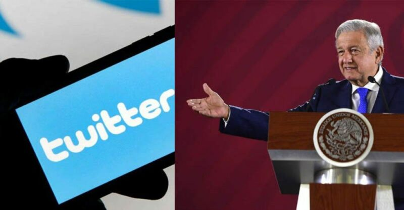 Twitter México suspende cuentas afines al Presidente