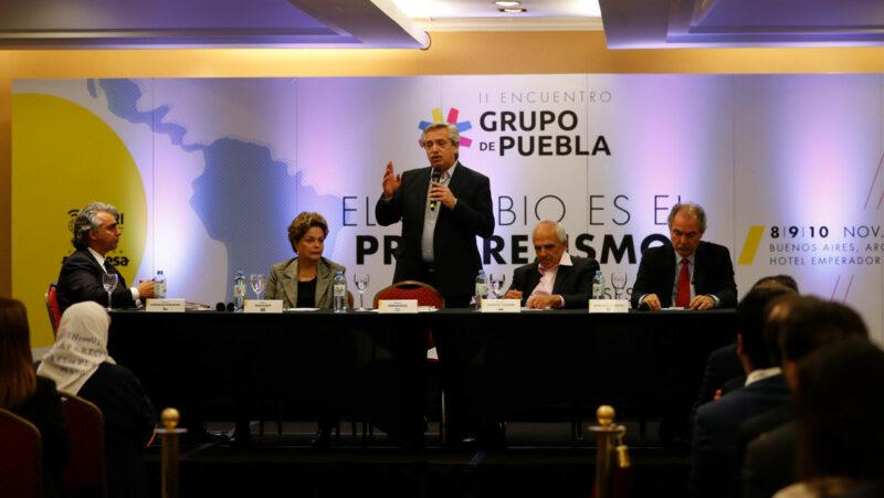 El Grupo de Puebla lanza un manifiesto progresista para contrarrestar al neoliberalismo en América Latina