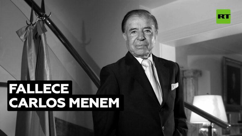 Video: Fallece Carlos Menem, el primer presidente peronista y neoliberal de Argentina