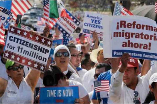 Llega hoy al Congreso el proyecto de reforma migratoria de BIden para legalizar a 11 millones de indocumentados con camino a la ciudadanía