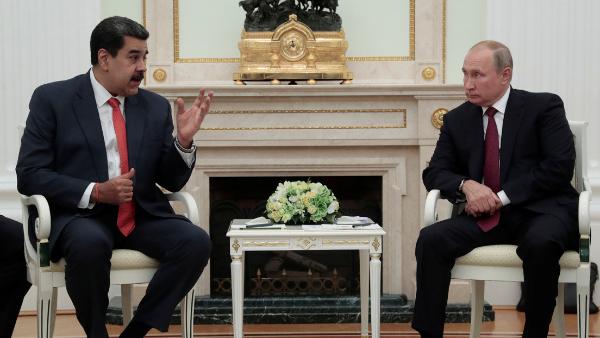 Putin apoya a Maduro por su propósito de reforzar la soberanía de Venezuela