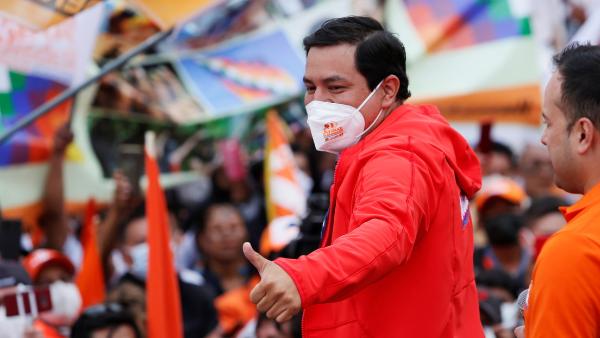 Andrés Arauz gana la primera vuelta en los comicios presidenciales de Ecuador, según conteo rápido del Consejo Electoral