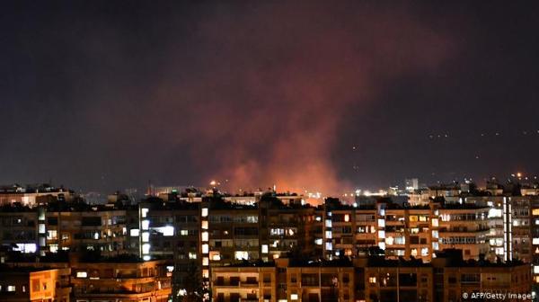 Siria derriba misiles cerca de Damasco y acusa a Israel por ataque