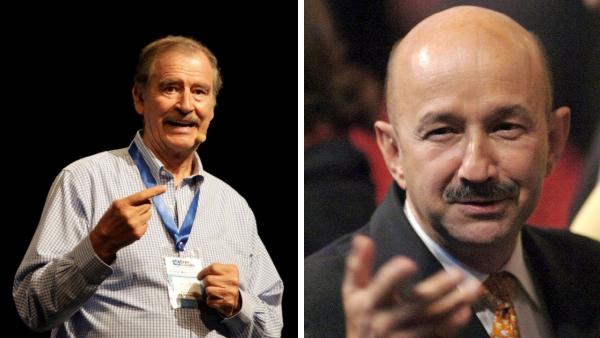 Video: Vicente Fox y Carlos Salinas se anotan para recibir la vacuna contra la COVID-19