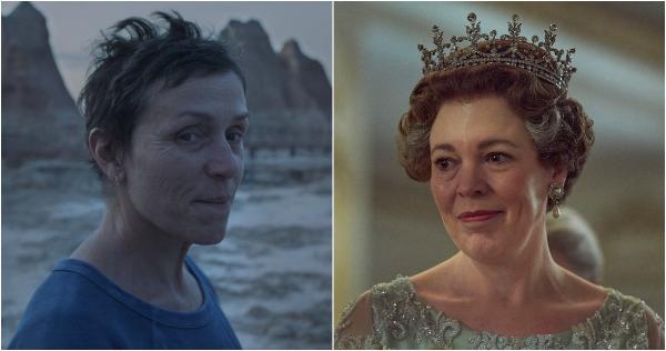 Nomadland se lleva el Globo de Oro a mejor cinta y dirección; The Crown, lo mejor de la TV