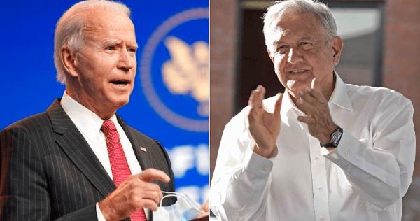 """AMLO: """"Plantearé a Biden que se legalice flujo migratorio; México es bujía en América del Norte"""""""