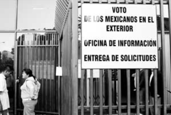 Próximo sábado, jornada de credencial electoral para mexicanos en EU