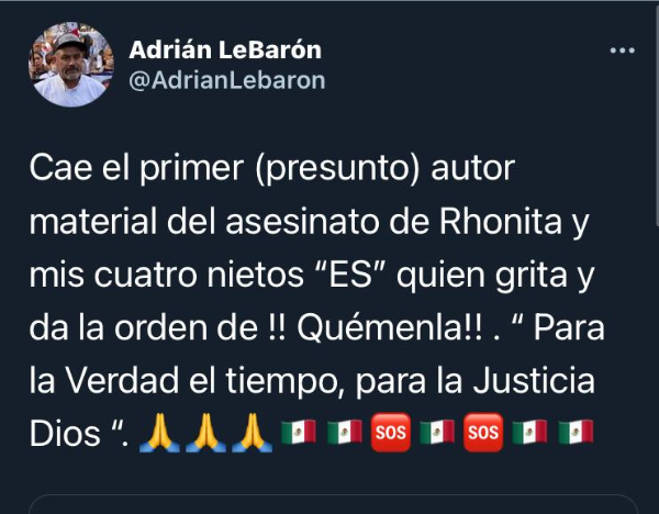 Video: Detienen a presunto atacante de la familia LeBarón en Bavispe