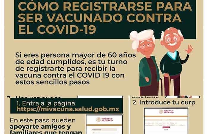 Videos: ¿Eres adulto mayor? México te pide que te registres para la vacuna. Este es un PASO A PASO