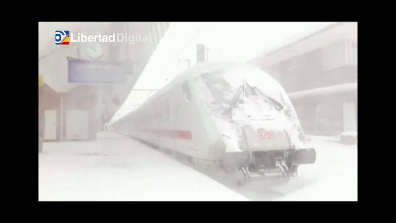 Tormentas de nieve cubren norte de Europa; paralizan parte de Alemania