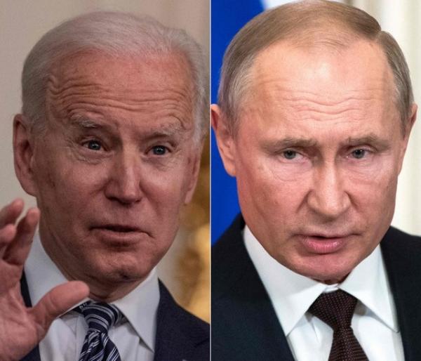 """Biden llama """"asesino"""" a Putin y advierte que """"pagará las consecuencias"""" por tratar de socavar su candidatura presidencial"""