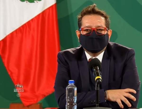 México suma 188 mil 44 decesos por Covid-19