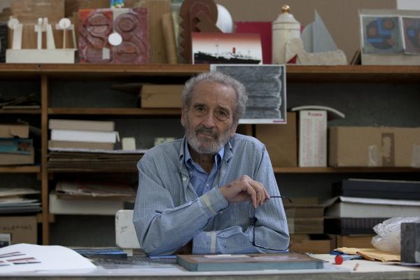 Muere a los 89 años, el pintor y escultor Vicente Rojo