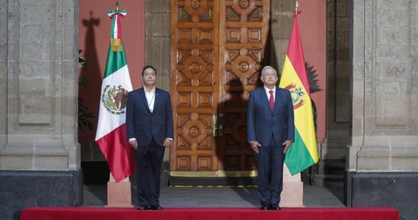 """Videos: """"Nunca lo voy a olvidar"""", dice el Presidente de Bolivia. Agradece a México y a AMLO haberlo asilado"""