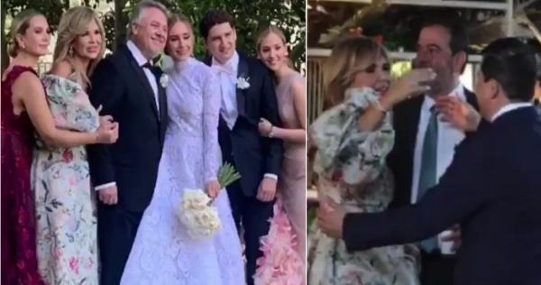 """Video: Hija de Gobernadora de Sonora tiene boda de lujo. """"El Potrillo"""" cobra 8 mdp. Asisten Salinas y Peña Nieto"""