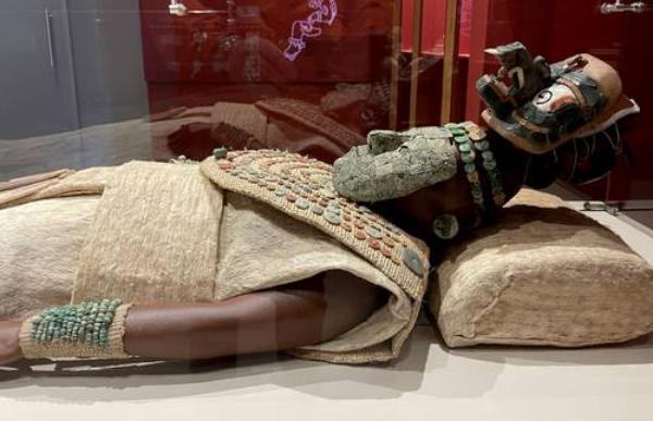 La Reina Roja, símbolo ancestral de la mujer contemporánea, ya está en un museo del corredor cultural del Tren Maya