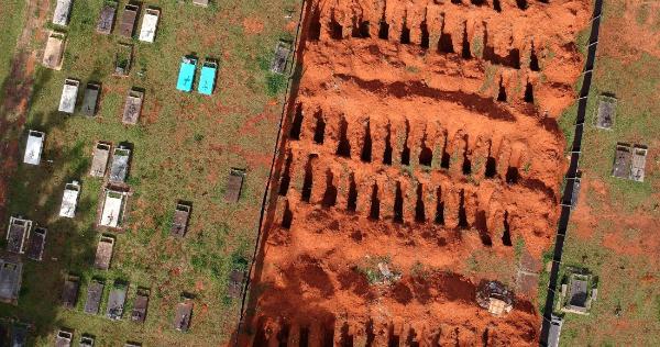 Brasil reporta 3,251 muertes por COVID en 24 horas, nuevo récord, y se acerca a los 300,000 decesos