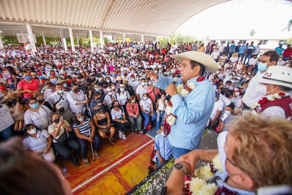 El Intituto Nacional Electoral retira a Félix Salgado Macedono la candidatura de Morena a la gubernatura de Guerrero