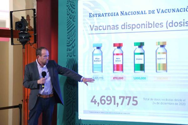 189 mil 578 decesos y 2 millones 119 mil 305 casos de Covid-19 en México