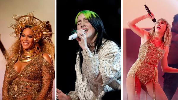 Videos:  Lafourcade, Billie Eilish a Beyoncé y Taylor Swift, entre los ganadores de Premios Grammy 2021
