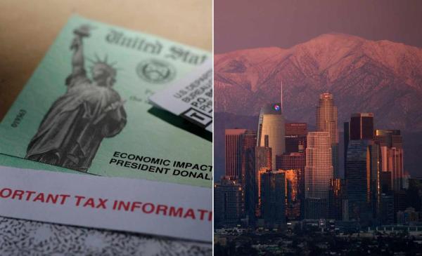 $1,400 por persona y $1,400 por dependiente: el cheque de estímulo llega este miércoles a California