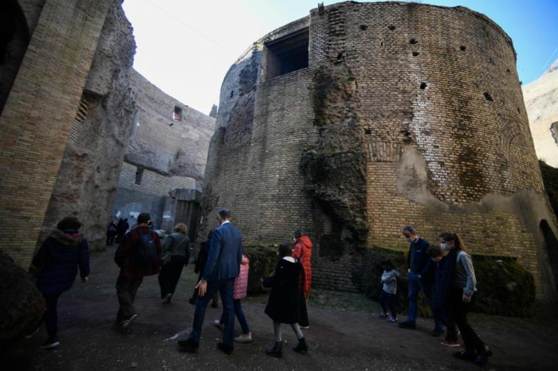Videos: Roma restaura y abre al turismo el Mausoleo de Augusto; data del 28 aC