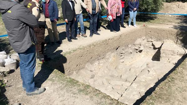 Descubren una villa romana del siglo I con grandes mosaicos, zonas de producción y varios enterramientos en el sur de España