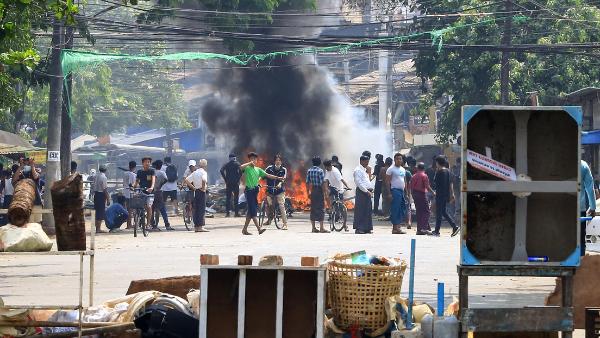 Video: Reportan la muerte de más de 90 manifestantes en Myanmar, cifra récord desde que la junta militar tomó el poder