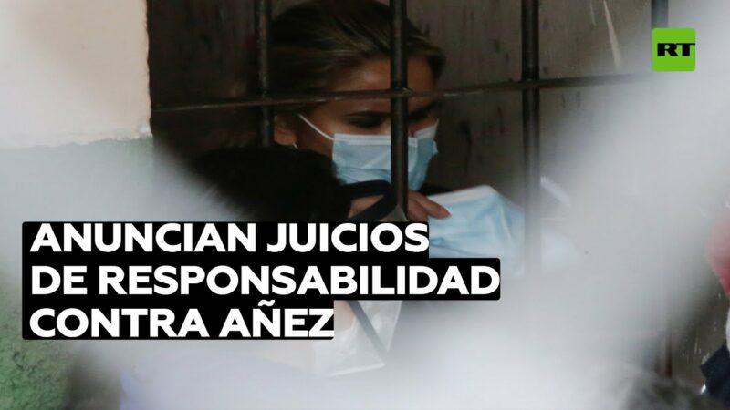 Video: Decretan detención preventiva de 4 meses para Jeanine Áñez y dos de sus exministros en Bolivia. Vendrán cargos penales por el golpe de estado