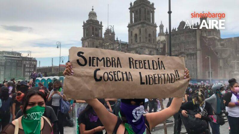 Video: Mujeres hacen retemblar plazas y calles capitalinas por las que ya no están, en 8M de ira y reclamos
