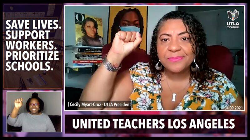 Video: El Sindicato de Maestros llama a unir esfuerzos para que la reapertura de escuelas tenga la mayor seguridad posible