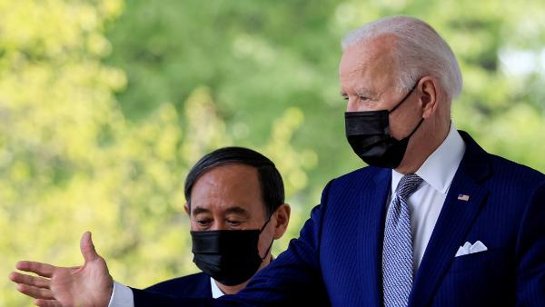 Video: Biden busca un frente unido con Japón contra China y Pekín
